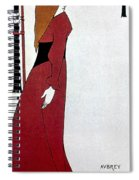 Beardsley: Poster Design Spiral Notebook