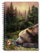 Bear's Eye View Spiral Notebook
