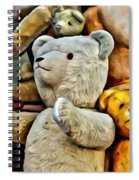 Bears For Sale Spiral Notebook