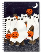Bear's Freebie Night Spiral Notebook