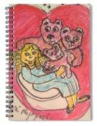 Bear's Love's Hugs Spiral Notebook