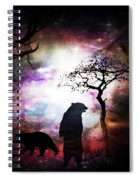 Bears Night Out Spiral Notebook