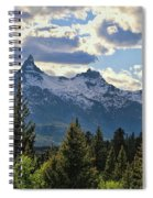 Beartooth Mountains In Spring Spiral Notebook
