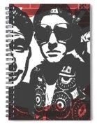 Beastie Boys Graffiti Tribute Spiral Notebook