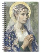 Beate Maria Spiral Notebook