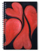 Beating Hearts  Spiral Notebook