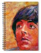Beatle Paul Spiral Notebook