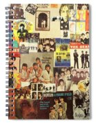 Beatles Collage 1 Spiral Notebook