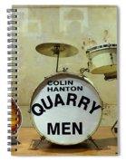 Beatles History  Spiral Notebook