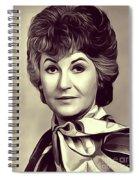 Beatrice Arthur, Vintage Actress Spiral Notebook