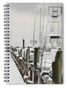 Beaufort Mother With Child In Snow Spiral Notebook