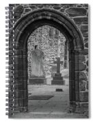 Beauly Priory Arch Spiral Notebook