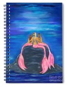 Beauties On The Rock Spiral Notebook