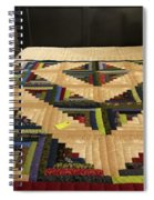 Beautiful Amish Quilt Spiral Notebook