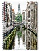 Beautiful Amsterdam Spiral Notebook