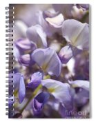 Beautiful And Magical Wisteria  Spiral Notebook