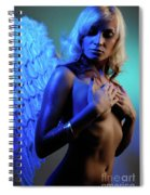 Beautiful Angel Spiral Notebook
