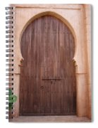 Beautiful Arched Doors Spiral Notebook