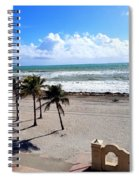 Beautiful Atlantic  Spiral Notebook