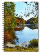 Willow Pond, Caleb Smith Preserve Spiral Notebook