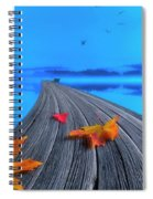 Beautiful Autumn Morning Spiral Notebook