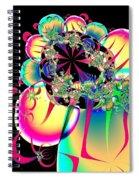 Beautiful Balloon Bouquet Fractal 57 Spiral Notebook