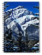 Beautiful Banff Spiral Notebook
