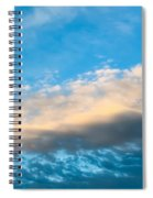 Beautiful Blue Skies Spiral Notebook