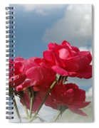 Beautiful Bouquet Of Roses Spiral Notebook