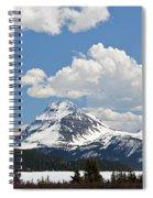 Beautiful Bow Lake Spiral Notebook