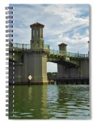 Beautiful Bridge Of Lions Spiral Notebook