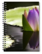 Beautiful Bud Reflection Spiral Notebook