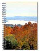 Beautiful Colors Of Autumn Landscape 2 Spiral Notebook