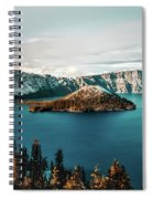 Beautiful Crater Lake Spiral Notebook