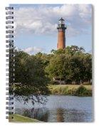 Beautiful Day At Currituck Beach Lighthouse Spiral Notebook