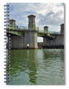 Beautiful Day At The Bridge Of Lions Spiral Notebook
