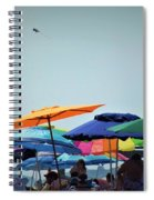 Beautiful Day For The Beach Spiral Notebook