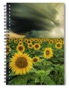 Beautiful Destruction  Spiral Notebook
