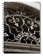 Beautiful Door Decoration Spiral Notebook