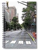 Beautiful Downtown Hoboken  Spiral Notebook