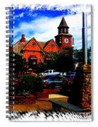 Beautiful Downtown Solvang Spiral Notebook