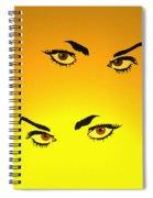 Beautiful Eyes Spiral Notebook