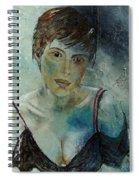 Beautiful Face Spiral Notebook