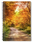 Beautiful Fall Day Spiral Notebook