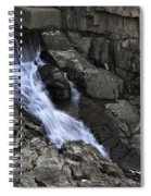 Beautiful Flow Of Power Spiral Notebook