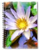 Beautiful Flower Spiral Notebook