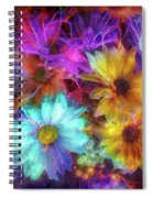 Beautiful Flowers Spiral Notebook