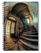 Beautiful Forgotten Staircase Spiral Notebook