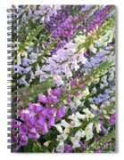 Beautiful Foxglove Spiral Notebook