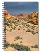 Beautiful Hiking In The Valley Of Fire Spiral Notebook